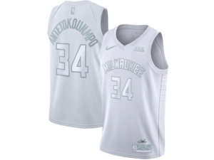 Nike Milwaukee Bucks Giannis Antetokounmpo Men's Authentic Mvp Jersey