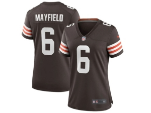 Nike Cleveland Browns Baker Mayfield Women's Game Jersey