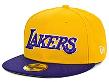 Los Angeles Lakers Series Custom 59FIFTY Cap