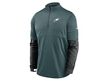 Philadelphia Eagles Men's Sideline Half Zip Therma Top