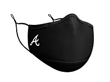 Atlanta Braves Black Team Face Mask