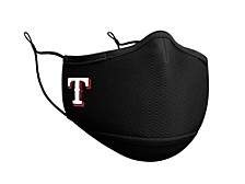 Texas Rangers Black Team Face Mask