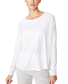 Women's Active Rib Long Sleeve Top