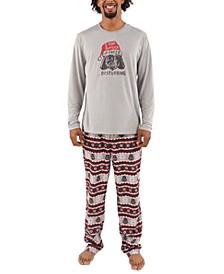 Matching Men's Holiday Darth Vader Family Pajama Set