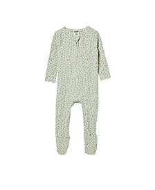 Baby Boys and Girls The Snug Long Sleeve Zip Romper