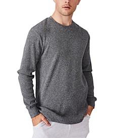 Men's Waffle Long Sleeve T-shirt