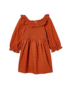 Toddler Girls Lilliana Long Sleeve Dress