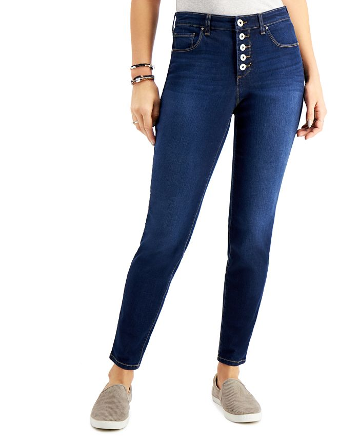 Style & Co - 5-Button Curvy-Fit Jeans, Created for Macy's