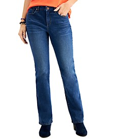 Mid-Rise Curvy Bootcut Jeans, Created for Macy's