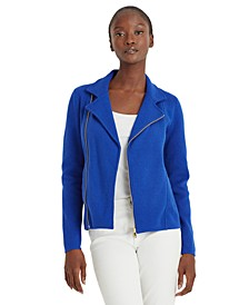 Asymmetrical Zip Jacket