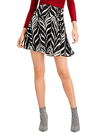 Side-Tie Mini Skirt, Created for Macy's