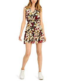 Ruffled Smocked-Waist Mini Dress, Created for Macy's