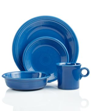 Fiesta Dinnerware, Lapis 4 Piece Place Setting