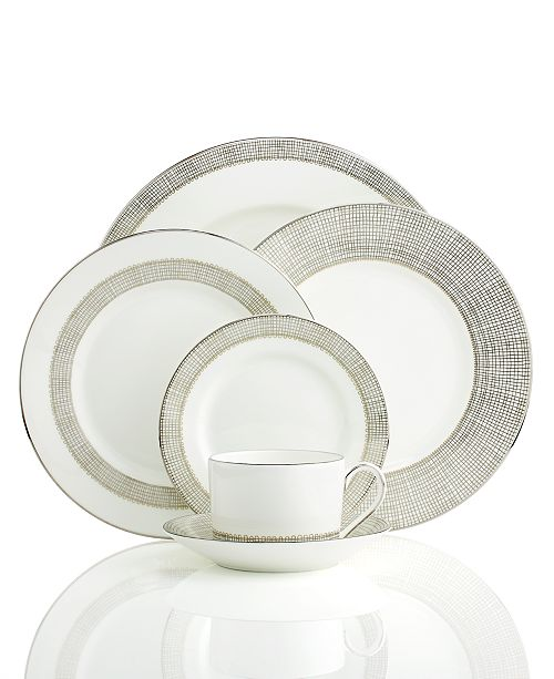 Vera Wang Wedgwood Vera Wang Gilded Weave Platinum Collection