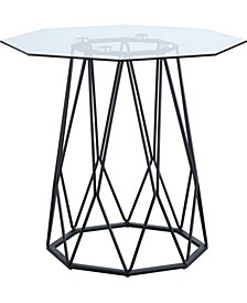 Trystance Glass Top End Table