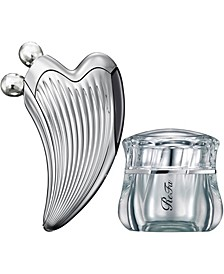 Caxa Ray Face Roller and Glossy Face Cream