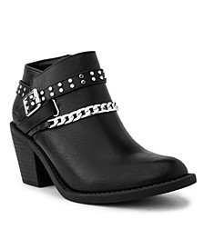 Women's Vroomy Ankle Chain Booties