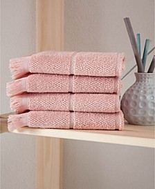 Mirage Collection Washcloths 4-Pack