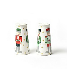 Nutcracker Pedestal Salt and Pepper Shakers