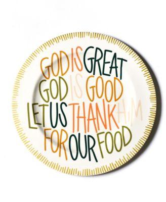 Dusk God is Great Platter