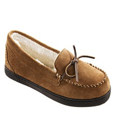 Women's Sage Genuine Suede Moccasin Slippers