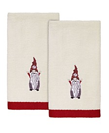 Christmas Gnomes Fingertip Towels, 2 Piece