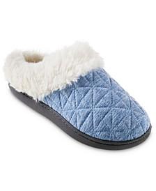 Women's Quilted Jersey Bridget Hoodback Eco Comfort Slippers