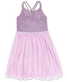Big Girls Wire Hem Dress