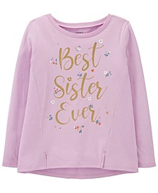 Big Girl Best Sister Ever Jersey Tee