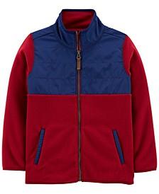 Big Boy Zip-Up Fleece Jacket