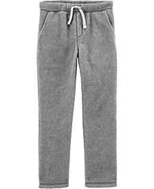 Little Boy Pull-On Microfleece Pants