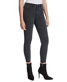 Adored Released-Hem Skinny Jeans