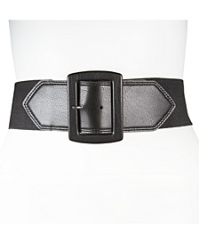 65MM Flat-Strap Stretch Belt