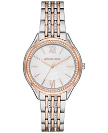 Women's Mindy Two-Tone Stainless Steel Bracelet Watch 36mm