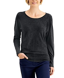 Rivet Dolman-Sleeve Top, Created for Macy's
