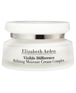 Elizabeth Arden VISIBLE DIFFERENCE REFINING MOISTURE CREAM COMPLEX, 2.5 OZ.
