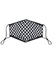 Adult Checkered-Print Face Mask