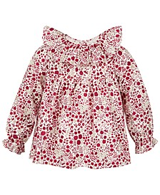 Baby Girls Floral Top, Created for Macy's