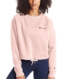 Women's Campus Cropped Fleece Sweatshirt