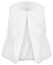 Baby Girls Plush Vest, Created for Macy's