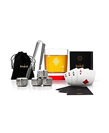 Poker King of Diamonds Whiskey Gift Set
