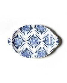 Burst Small Handled Oval Platter