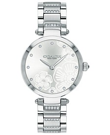 Women's Park Stainless Steel Bracelet Watch 30mm