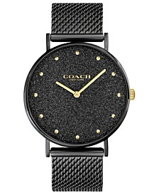 Women's Perry Black-Tone Bracelet Watch 36mm