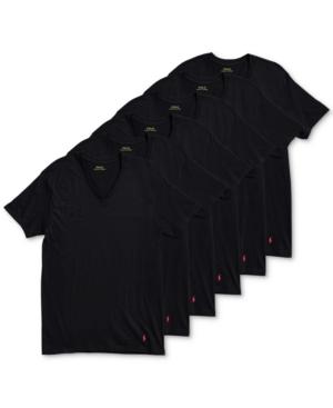 Polo Ralph Lauren Men's 6-Pack V-Neck Undershirts