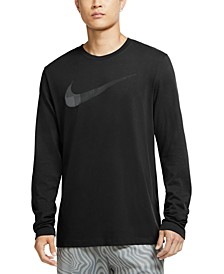 Men's Dri-FIT Long-Sleeve Swoosh T-Shirt
