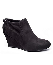 Women's Viva Wedge Ankle Booties