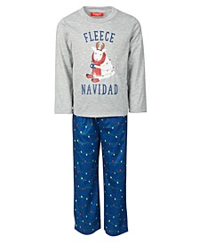 Matching Kids Fleece Navidad Family Pajama Set, Created for Macy's