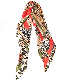 INC Tiger Stripes Oblong Scarf, Created for Macy's