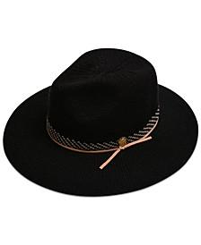 Women's Patterned Packable Panama Hat